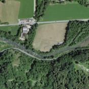 Tratta della Tresa interessata dal progetto lungo il confine italo-svizzero (immagine Swisstopo).